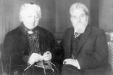Семейное фото. Мария и Теодор Бергманн. Из собрания городского архива Гаггенау