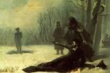 Поэт-бретёр против охотника-стендовика
